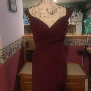 Fancy elegant cocktail dress